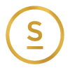 GlosSalon Gold S Logo Icon